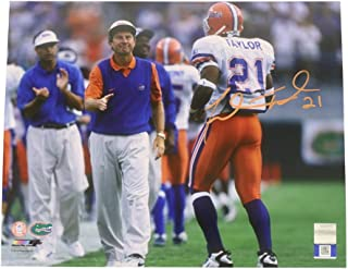 Fred Taylor Autographed Signed 8x10 Photo Florida Gators - Sports Collectibles Authentic