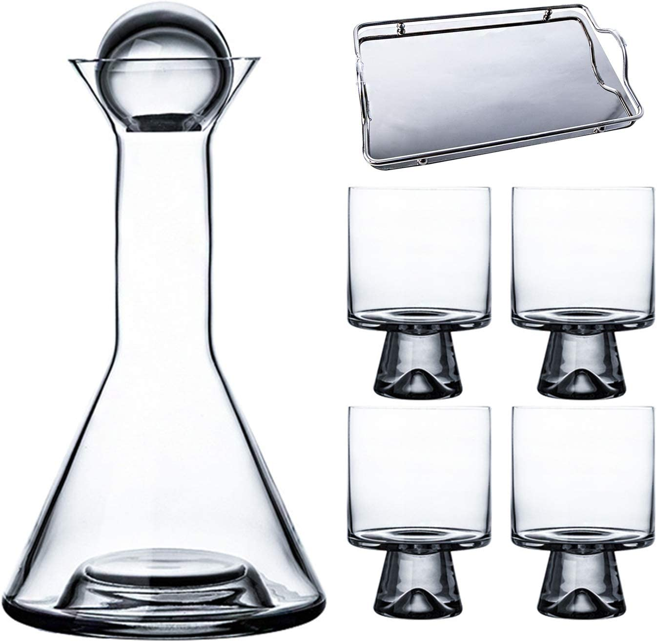 NBSXR -Wine Decanter Set Home Soft Fees free!! Bottle Coppe Glass Max 79% OFF