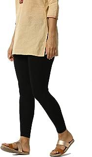 ERAZOR Women's Cotton Ankle Length Bio-Wash Legging (Free Size)