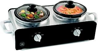 Sensio 13493 Bella Cucina Double Slow Cooker Buffet Server