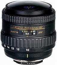 Tokina 10-17 mm f:2.8 AT-X AF DX NH Fisheye - Objetivo para Canon (Diámetro: 70mm), Negro