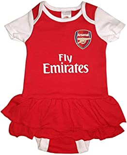 Arsenal FC Girls Tutu Bodysuit