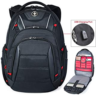 Business Travel Backpack TSA Laptop Backpacks USB/RFID in 15.6 Laptops for Men
