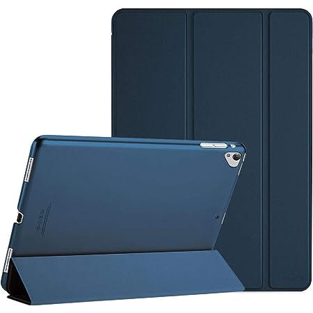 "ProCase iPad Pro 12.9""ケース スマート 超スリム 軽量 スタンド 保護ケース 半透明フロスト バックカバー 適用機種:iPad Pro 12.9"" 2世代 2017 / 1世代 2015 - ネービー"