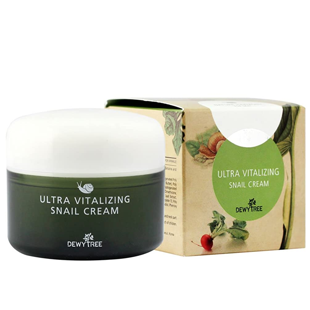 コイル同性愛者大惨事DEWYTREE ULTRA VITALIZING SNAIL CREAM(80ml)