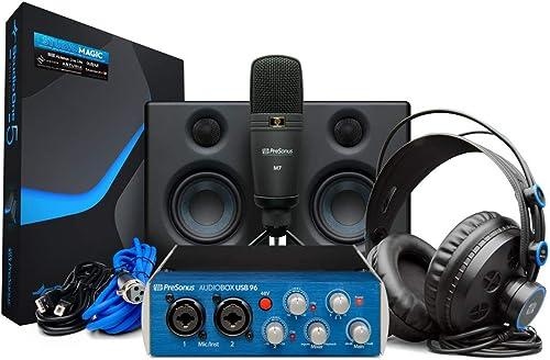 PreSonus Audiobox Studio Ultimate Bundle matériel/logiciel complet kit d'enregistrement