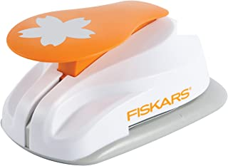 Fiskars 5462 Perforatrice à Levier Motif Eglantine Blanc