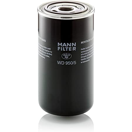 Original Mann Filter Ölfilter Wd 950 5 Hydraulikfilter Für Pkw Und Nutzfahrzeuge Auto