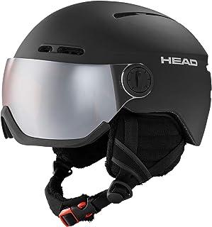 Head herr riddare skidor/snowboardhjälm, svart, M/L