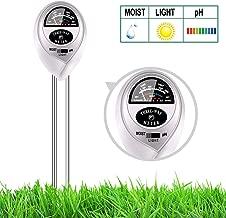 yoyomax Soil Test Kit pH Moisture Meter Plant Water Light Tester Testing Kits Garden Plants