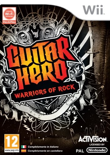 Guitar Hero 6 Warriors of Rock [Importación italiana]
