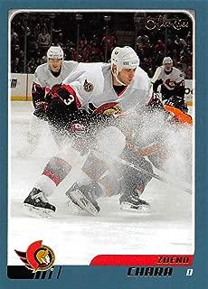 2003-04 O-Pee-Chee Hockey Card #111 Zdeno Chara Ottawa Senators Official NHL Trading Card