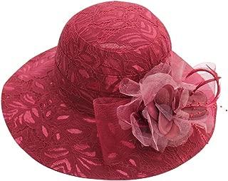 SUNyongsh Women's Fascinator Church Kentucky Derby Fascinator Bridal Tea Party Wedding Hat