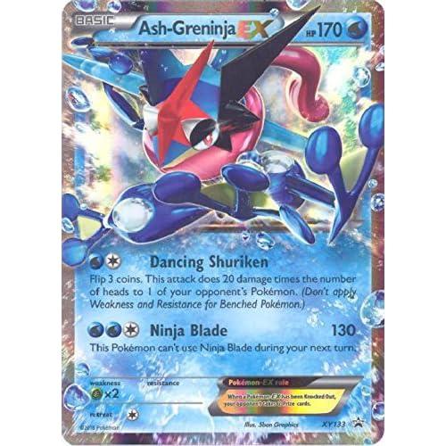 Amazon.com: Pokemon - Ash-Greninja-EX (XY133) - XY Black ...