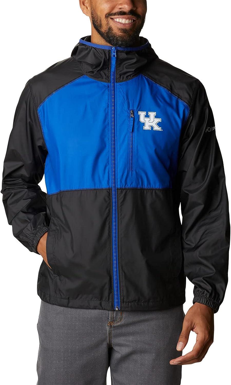 Columbia Men's Collegiate Flash Forward Jacket, UK - Black/Azul, X-Large