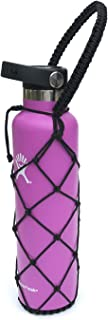 Water Bottle Carrier Net for Hydro Flask 24 oz - No Longer Worry About Dropping or Losing Your Narrow Mouth Bottle