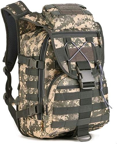 VIVIAN YANG Assaut tactique Pack sac à dos armée sac à dos militaire camouflage montagne escalade sac à dos pour la randonnée en plein air Camping trekking chasse