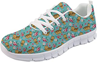 Spring Summer Running Flat Shoes for Women Sports Walking Sneakers