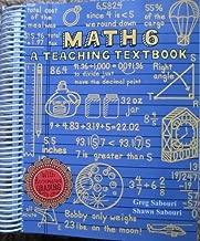 Math 6 A Teaching Textbook