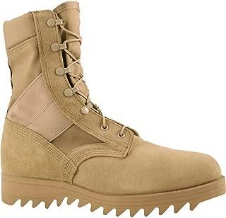 McraeメンズDesert Tan Suede/CORDURA Hot Weather Ripple Military Boots