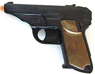 Big Game Toys~Walther PPK Semi-Auto Pistol Cap Gun~Secret Agent spy Toy