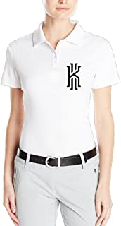MZONE Women's Basketball Superstar Kyrie #2 Irving Particular Polo T Shirt