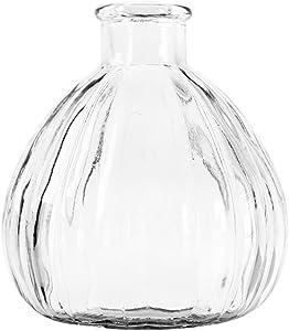Outflower Jane Europea Vase en verre créatif Transparent 8,5x 9,3x 1,8cm