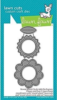 Lawn Fawn Reveal Wheel Circle Add-on Frames: Flower and Sun Custom Die (LF2254)