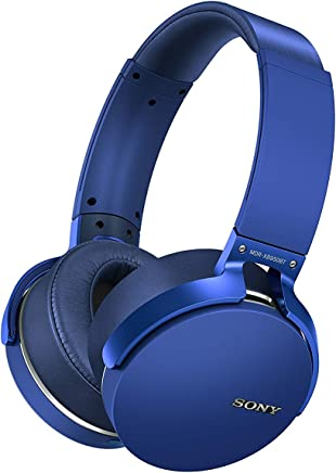 Sony XB950B1 Extra Bass Wireless Headphones with App Control, Blue (Renewed)