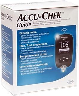 NUEVO ACCU CHEK GUIDE - Kit Glucómetro para la piel sensible Medidores de Glicemia