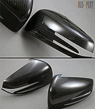 Cuztom Tuning Fits for 2010-2014 Mercedes W204 C63 C250 C350 W212 E300 E350 W117 CLA 43 AMG Carbon Fiber Side View Mirror Cover Caps