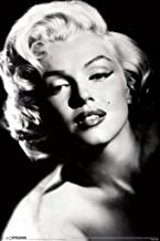 Pyramid America Marilyn Monroe Glamour Hollywood Celebrity Actress Model Icon Black White Photograph Photo Cool Wall Decor Art Print Poster 12x18