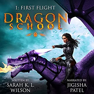 Dragon School: First Flight (Volume 1) audiobook cover art