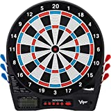 Viper Showdown Electronic Dartboard, Regulation Size For Tournament Play, Ultra Thin Spider Increases Scoring Area, Easy To Use Button Interface, Large Catch Ring For Missed Darts, 25/50 Bull Options, 32 Games 590 Options