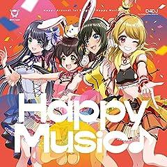 Happy Around!「Happy Music♪」の歌詞を収録したCDジャケット画像