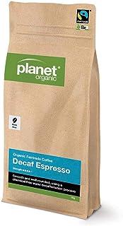 Planet Organic Espresso Decaf Whole Bean Coffee,