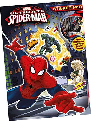 Anker - Ankspstp - Cahier D'autocollants - Spiderman