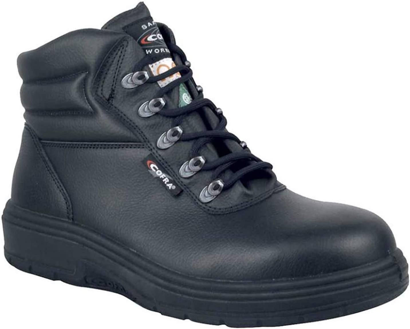Cofra 82020-CU0.W06 5 New Asphalt EH PR Blac Safety Topics on TV Boots Free Shipping 6.5