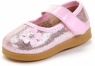 Sneak A' Roos Little Girl's Squeaky Toddler Shoe