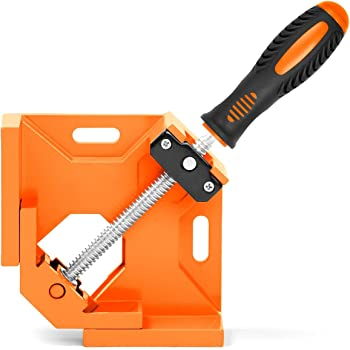 HORUSDY 90° Right Angle Clamps/Corner Clamp tools for Carpenter, Welding, Wood-working, Engineering, Photo Framing - Best Unique Tool Gift for Men