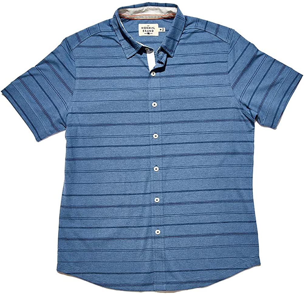 Ranking 2021 model TOP14 The Normal Brand Short Sleeve Active Puremeso Button-Down