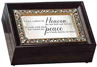 Roman Place in Heaven Brown Large Bereavement Collection Music Box