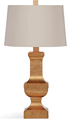 Bassett Mirror L3242TEC Bricolage Alexis Table Lamp, Gold