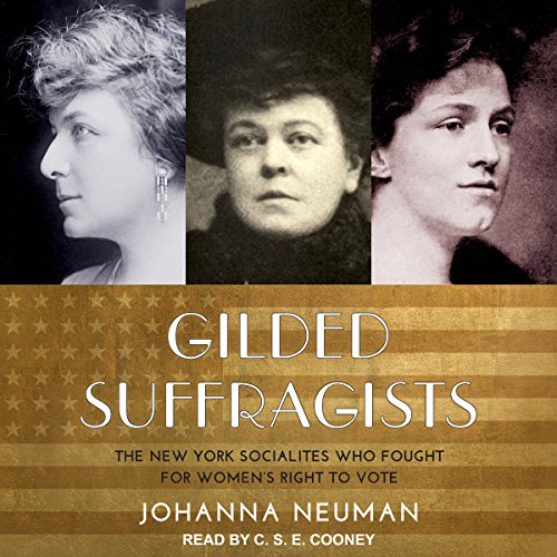 Gilded Suffragists audiobook cover art