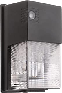 LED Security Light Wall Pack with Photo Eye- 20 Watt Replaces 50W - 2000 Lumens, 5000K, Commercial Grade, UL & DLC