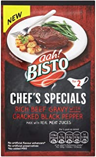 Bisto Chef's Specials Beef Gravy with Cracked Black Pepper (25g) - Pack of 6
