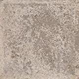 Giorbello Piazza Italian Porcelain Tile in Siena Sand, 8 x 8, Case of 16 Tiles, 7 Sqft.