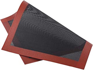 Redcolourful Tapis de cuisson creux en silicone anti-adhésif et respirant en fibre de verre pour biscuits, pain, biscuits