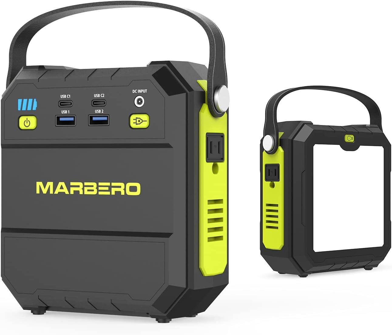 Marbero  22500mAh  83Wh Portable Power Station $40.49 Coupon
