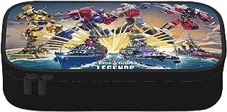 Trousse à crayons Transformers portable - Trousse de rangement pour enfants, adolescents, filles, garçons, enfants, maiso...